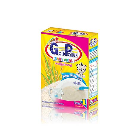Gold Power (Rice+Milk) 300g ( GP 4A+ )