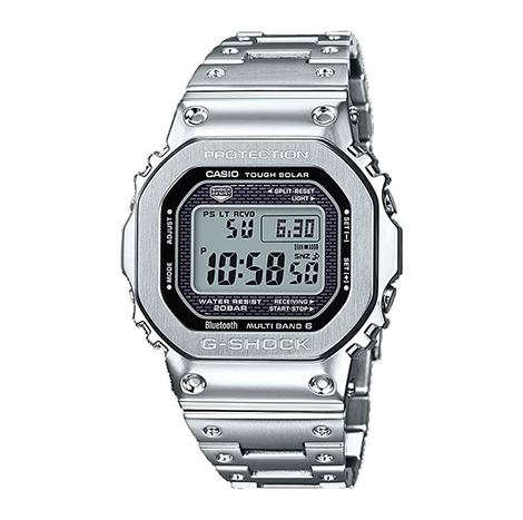 Casio Gshock Full Metal Style Watch GWM 5000(Silver)