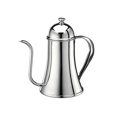 TIAMO Stainless Steel Coffee Pot 0.7L