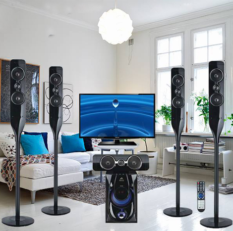 Harrier Ultra Bass 5.1 Home Surround Sound ( 2018 technology )