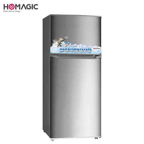 HOMAGIC 118L Double Door Refrigerator ( HBCD-121 )