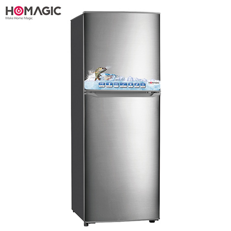 HOMAGIC 138L Double Door Refrigerator ( HBCD-144 )