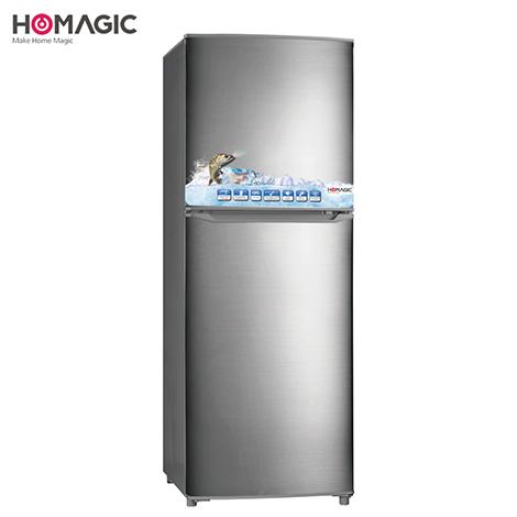 HOMAGIC 182L Double Door Refrigerator ( HBCD-187 )