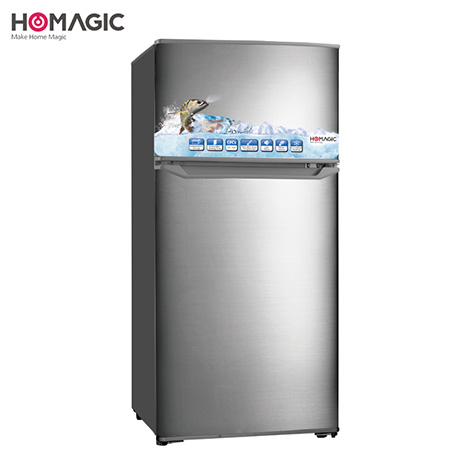 HOMAGIC 85L Double Door Refrigerator ( HBCD-87 )