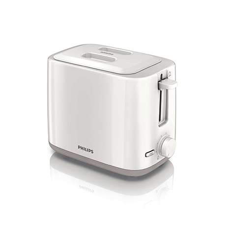 PHILIPS Daily Toaster 2 Slor Metal Compact (HD-2595)