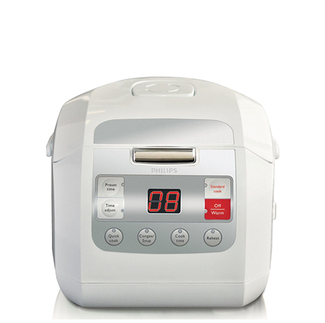 PHILIPS Viva Collection Fuzzy Logic Rice Cooker (HD-3030)