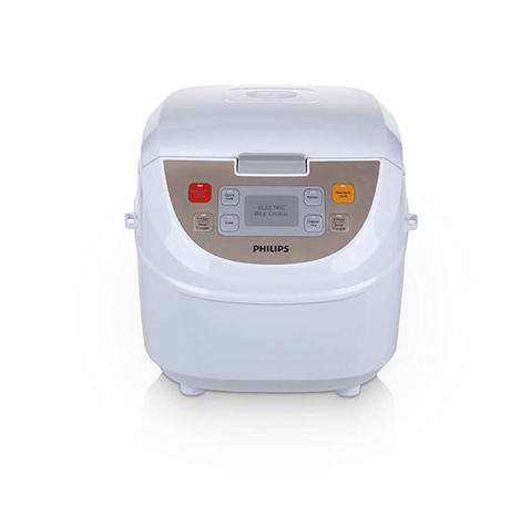 PHILIPS Viva Collection Fuzzy Logic Rice Cooker (HD-3130)