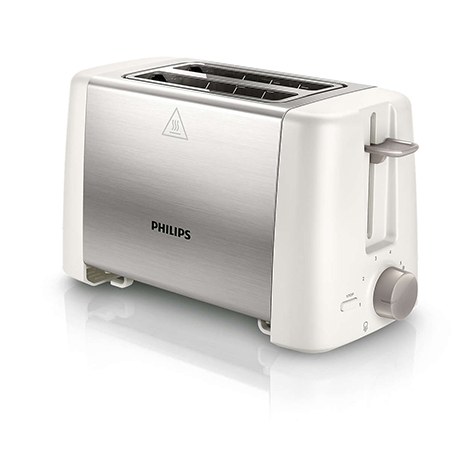 PHILIPS Daily Toaster Compact Size Metal (HD-4825)
