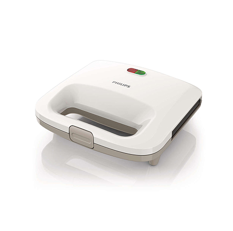 Philips Sandwich Maker (HD2393/02)