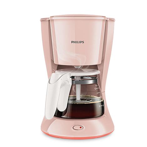Philips American home automatic drip coffee maker machine, Pink (HD7431)