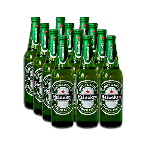 Heineken Beer (640ml) Bottle - 12 Bottles per Case