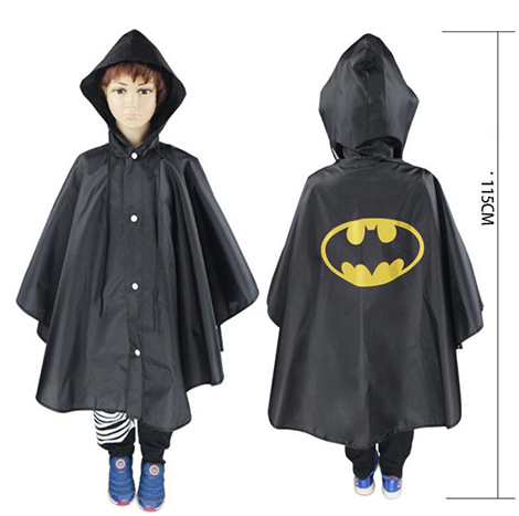 First Place Hero Raincoat Bat Man