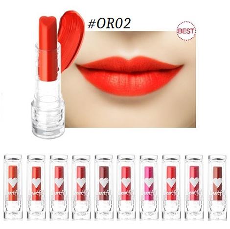 HOLIKA HOLIKA Heartful Cream Lipstick (Chiffon) 3.5g (HHL-02C)