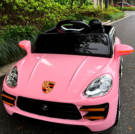 PORSCHE Style Children's 1-4 YRS Electric Four-wheeled 2.4G Battery car with Music LED ligh remote control (HJ333)