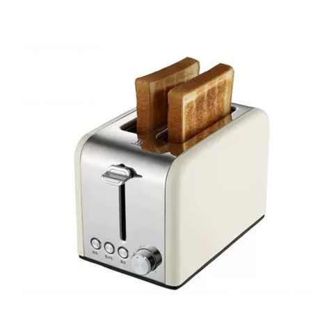 YUMELI Household Automatic Stainless Steel Red Bread Toaster (HT6118)