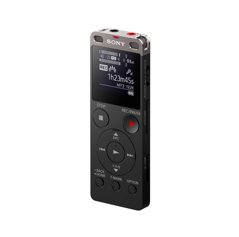 Sony Digital Voice Recorder With Bluetooth Remote (ICD-UX560)