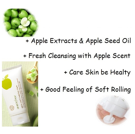 Innisfreee Apple Seed Cleansing Cream 150ml (IFS-36)