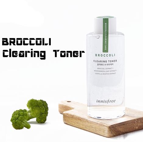 Innisfree BROCCOLI Clearing Toner 150ml (IFS-41)