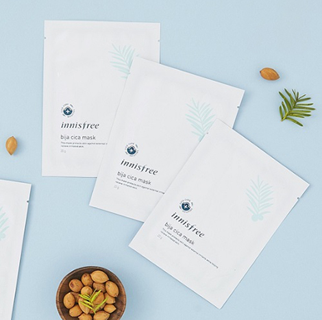 Innisfree Seeweed Soothing Mask 20g x 5pcs (IFS-80)
