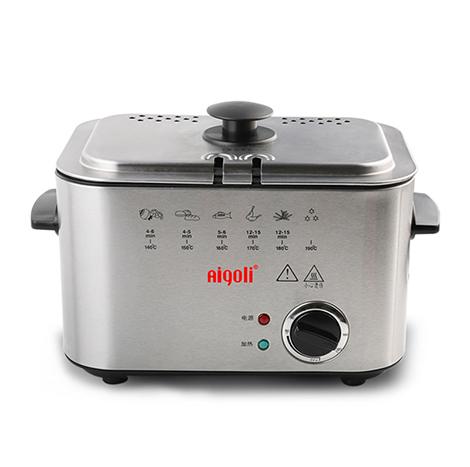 AIGOLI Mini Constant Temperature Household Small Electric Fryer (XJ-6K116)