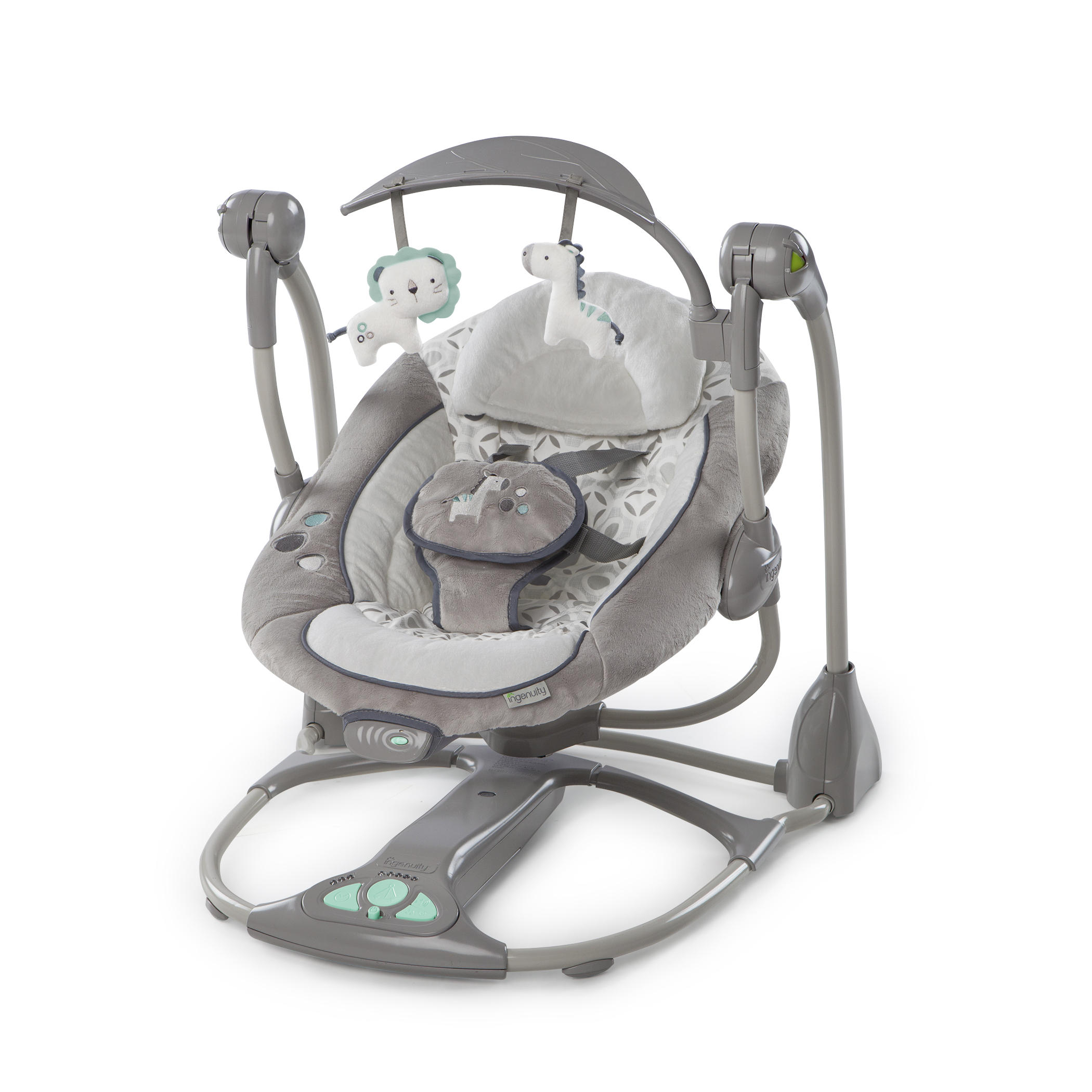 Bright Starts ING 2-in-1 Portable Swing Orson (BBBS10037)