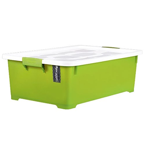 LOCK & LOCK Living Storage Modern 35L (Green/Gray/Violet) (INP123)