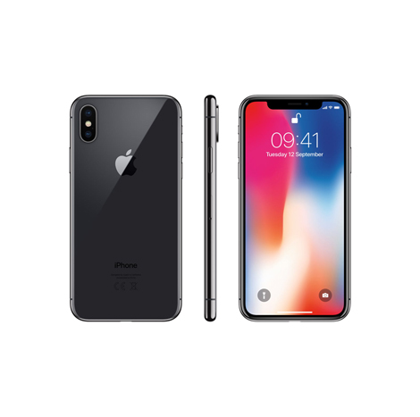 iPhone X (3GB, 256GB) Gray (NAKZ Warranty)