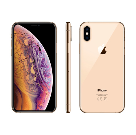 iPhone XS Max (4GB, 64GB), Gold (Dual Sim)