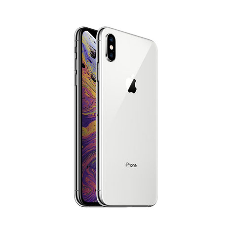 iPhone XS Max (4GB, 64GB), Silver (Dual Sim)