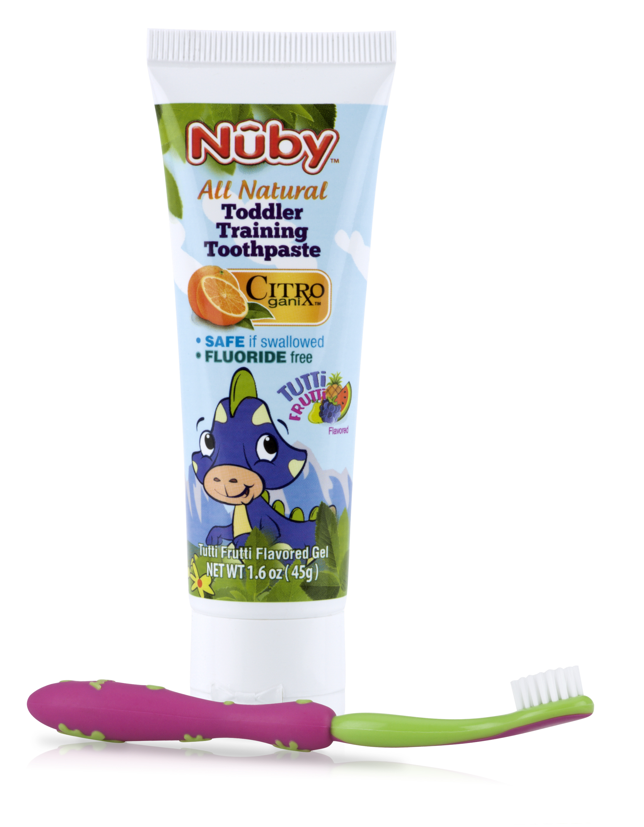 Toddler Training Toothpaste &Toothbrush
