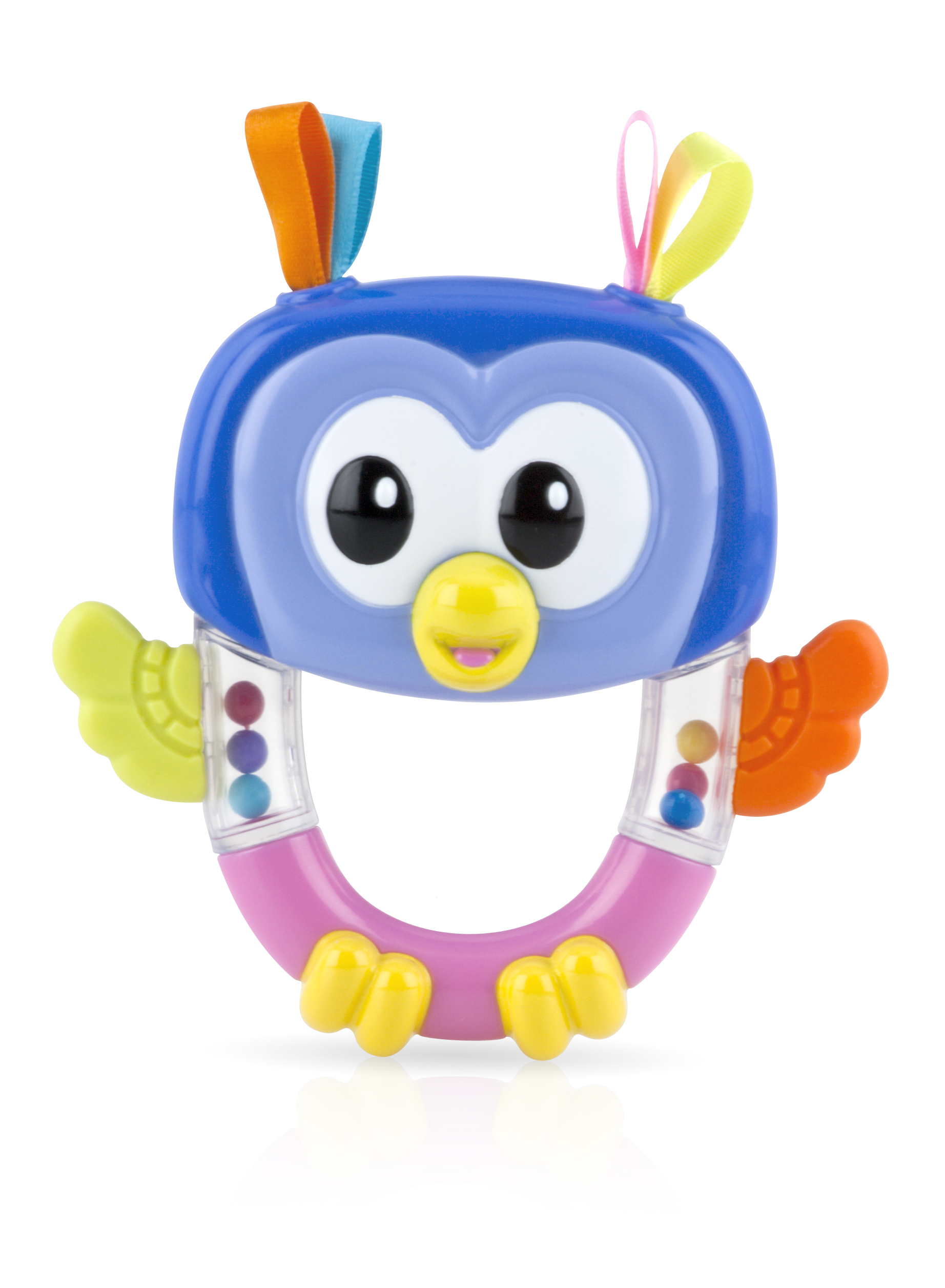 Playful Teether Rattle Pals