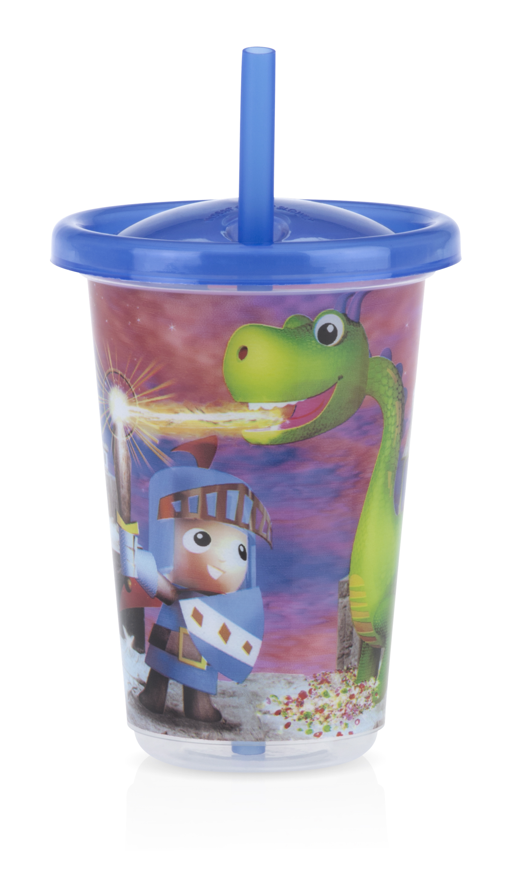 3 Straw Cups & Lids
