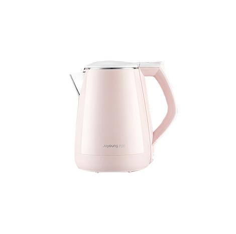 Joyoung Electric Automatic Power 304 Stainless Steel Kettle, 1.5 Liter Pink (K15-F626)