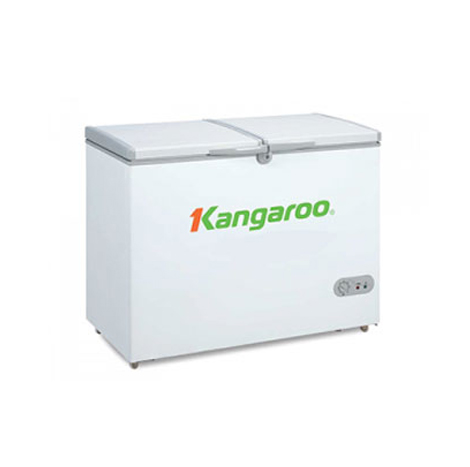 KANGAROO Antibacterial Commercial Chest Freezer 2 stacks 2 Door ( KG388C2 )