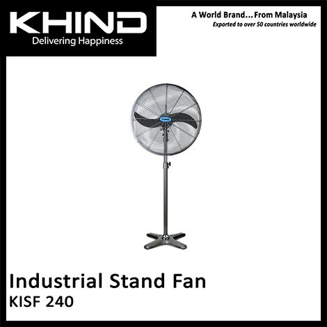 KHIND 24 Inch Industrial Stand Fan ( KISF 240 )