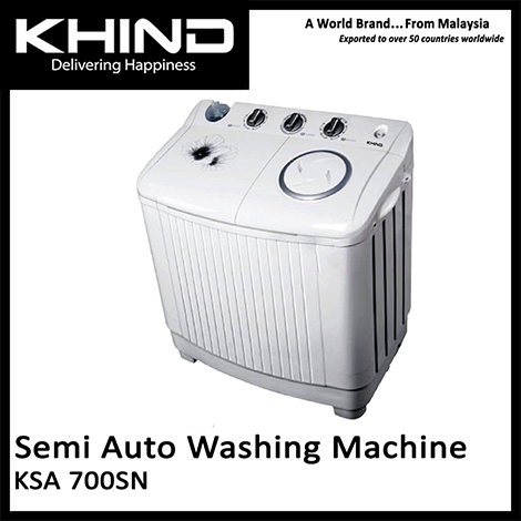 KHIND Semi Auto Washing Machine ( KSA 700SN )