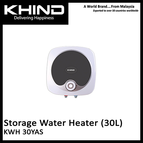 KHIND ST Series 30L Storage Water Heater ( KWH 30YAS )