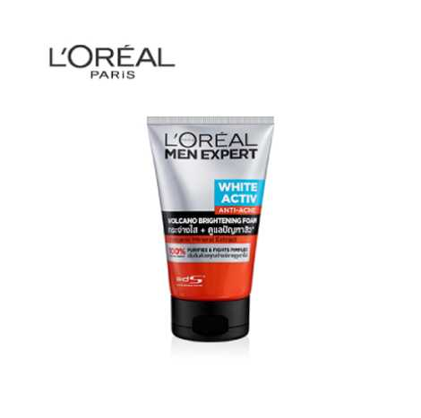 L'Oreal Men White Active Volcano Foam 100ml