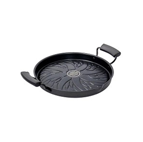 LOCK & LOCK COOKPLUS SPEED COOK GRILL PAN 26CM (BLACK) - LCA3264B
