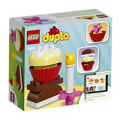 LEGO DUPLO MY FIRST CAKES BUILDING TOY 8PCS/PZS (1-3 AGE/EDADES) (10850)