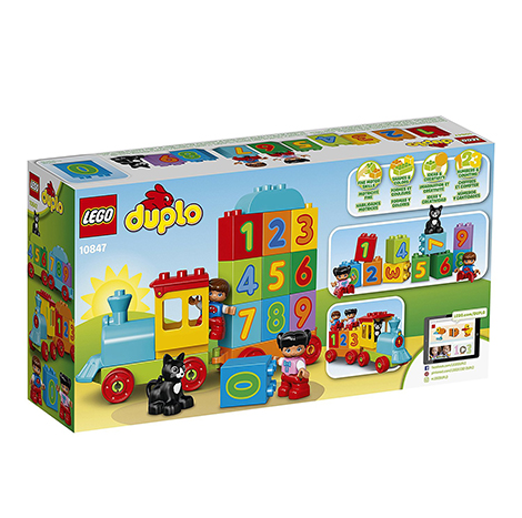 LEGO DUPLO MY FIRST NUMBER TRAIN BUILDING TOY 23PCS/PZS (1-3 AGE/EDADES) (10847)