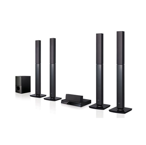 LG Bluetooth Multi Region Free 5.1-Channel Home Theater Speaker System (LHD657M)