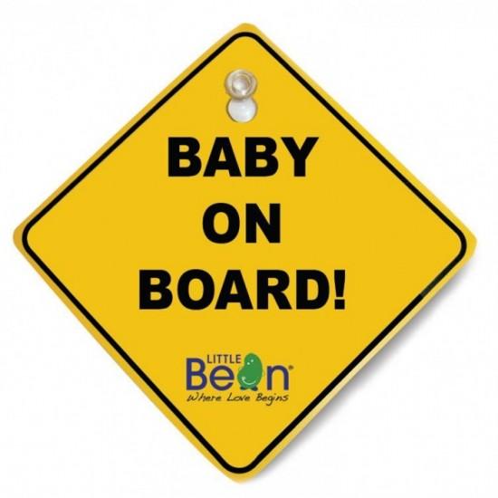 Little Bean Baby On Board (LBBEF906308)