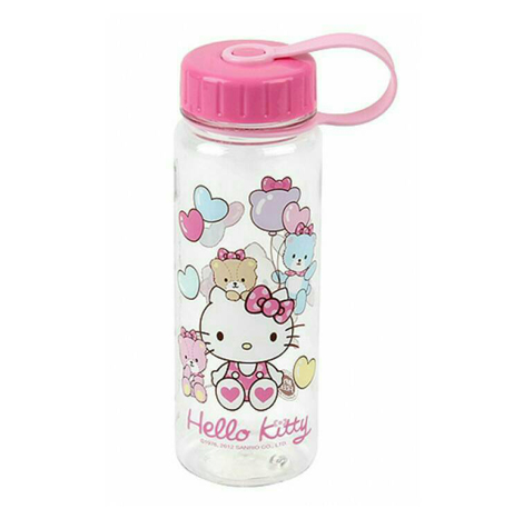 LOCK & LOCK HELLO KITTY WATER BOTTLE 500ML (SPRING/BEAR) (LKT613)
