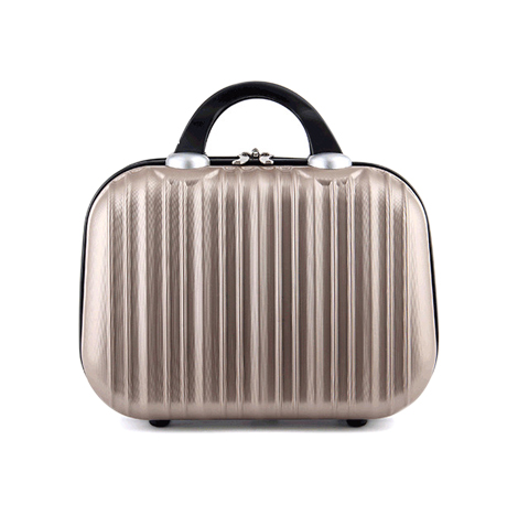"""14"""" Inch Make-up Travel Suitcase with Elastic Strap ( AB14 )"""