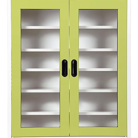 KIOSK Open Door 5 Adjustable Shelves Shoe Cabinet ( MAX-033 )