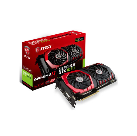 MSI NVIDIA® GeForce® GTX 1070 GAMING X 8G (PCI Express Gen 3) Military Class 4