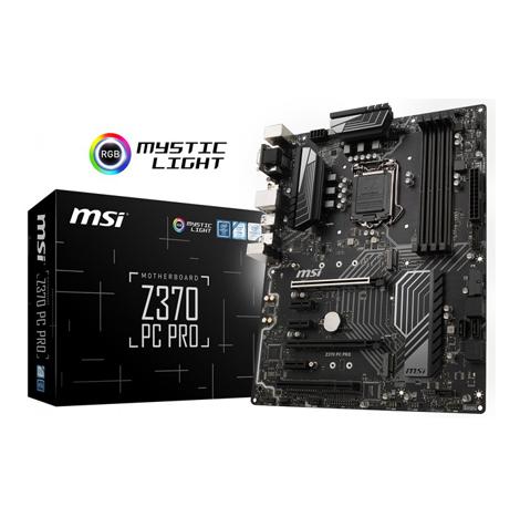 MSI Z370 PC PRO Motherboard (Intel® Z370 Chipset)