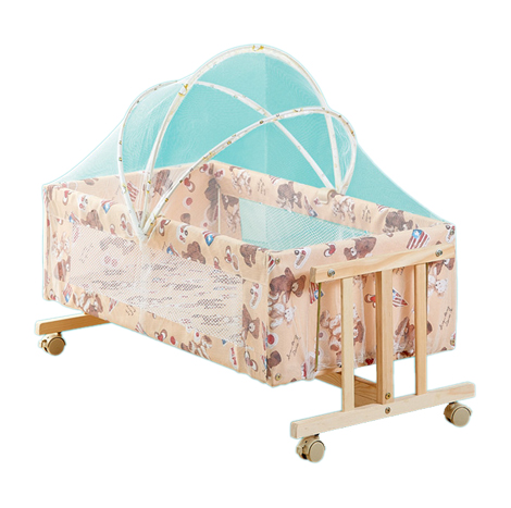 Multi-function Foldable All in 1 Baby Cradle Bunk Bed Set (NBPY210)