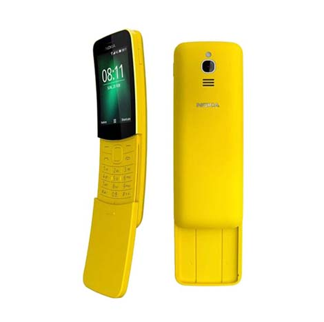 Nokia Banana Phone (2018 Latest First Copy), Yellow